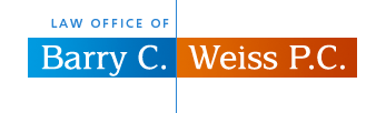 Logo of New York Criminal Lawyer Barry C. Weiss P.C.